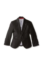 Elie Balleh Brand BLACK Big Boy's 2014 Style Slim Fit Jacket/Blazer